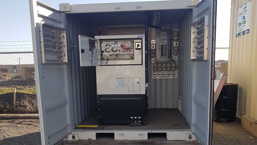 60kVA Genset - equipment rental & sales