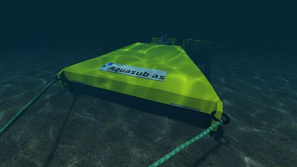Unmanned Submersible Dredging