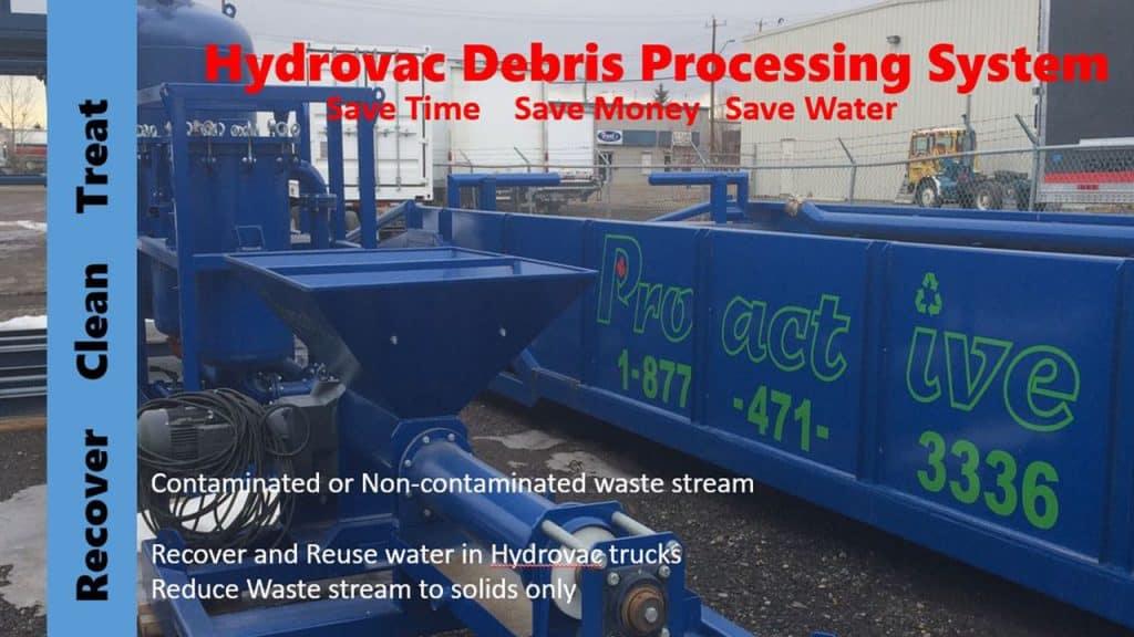 Hydrovac Debries Processing System