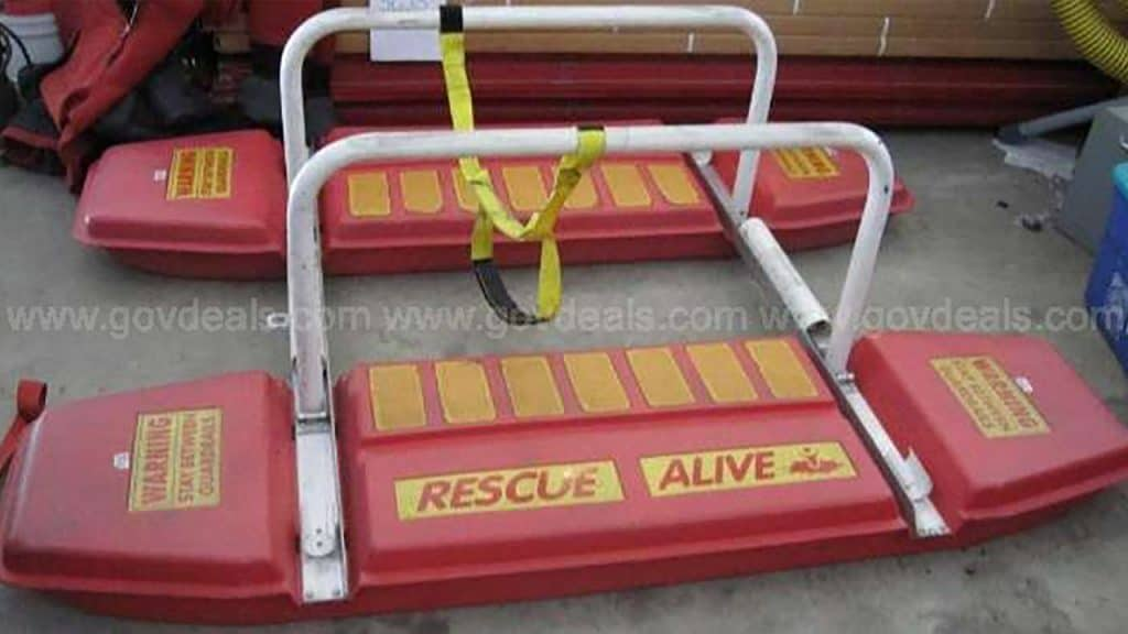 ice rescue sled - equipment rental & sales