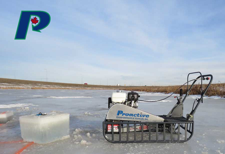 Ice sled saw
